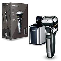 Panasonic 松下电器 优质干湿两用剃须刀 ES-LV9Q 配备5D超柔软剃须刀头,带清洁站