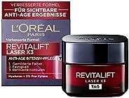 L'Oréal Paris 巴黎歐萊雅 復顏光學系列(Revitalift Laser X3) 深度滋養玻尿酸鎖齡日霜 三重效果,