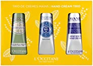 L'OCCITANE 欧舒丹 护手霜,经典三件套礼品套装,富含乳木果油,适