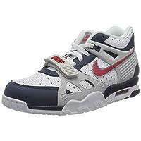 Nike 耐克 男士 Air Trainer 3 篮球鞋,Bianco