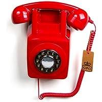 GPO 746 按钮复古 Phone_pGPO746WM Red 红色