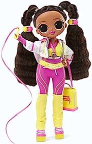LOL Surprise OMG Sports Vault Queen 艺术体操时尚娃娃,20 个惊喜开箱即用