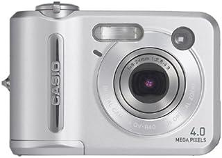 Casio 卡西欧 QV-R40 400 万像素迷你数码相机,带 3 倍光学变焦