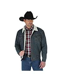 Wrangler Men's Rustic Sherpa Lined Jacket