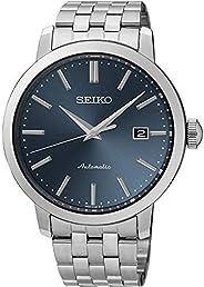 Seiko 精工机械,不锈钢,带皮带。