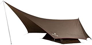 Snow Peak 雪峰 外帐 单人帐篷&防水布 六角状 1 SDI-101 1人用 棕色