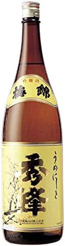 梅锦 特选 秀峰 瓶 [ 日本酒 1800毫升 ]