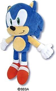 Sonic 刺猬毛绒玩具 S 收藏家毛绒玩具 SK 日本:10.6 x 4.5 x 5.7 英寸
