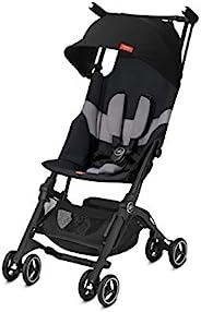 Pockit 輕質嬰兒車 天鵝絨黑色 標準