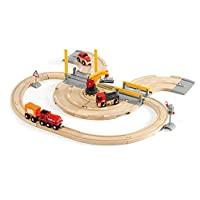 瑞典 BRIO 火车系列 货运卡车轨道套装 BROC33208