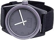 neff 男式模拟石英运动手表塑料表带,多色,23(型号:NF0201-5