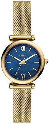 [Fossil] 手表 CARLIE MINI ES5020 女款 金色