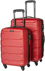 Samsonite 新秀丽 Omni Pc 硬壳可扩展行李箱 带万向轮, 红色, 2-Piece Set (20/24), Omni PC 硬壳可扩展行李箱,带旋转轮