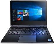 techbite Arc 11.6 HD 笔记本电脑,带触摸屏,笔记本电脑 Windows 10 Pro 电脑,11.6 英寸 IPS,英特尔2.6 GHz,4GB RAM,64GB eMCP,WLAN,蓝牙