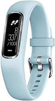 Garmin vívosmart 4 健身追踪器 - 时尚设计,手腕处心率测量,*分析