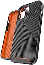 Gear4 Battersea 精装手机壳,先进的冲击保护 [ 由 D3O 保护] 加固背部保护,超薄设计 - 适用于 iPhone 12 Pro Max - 黑色
