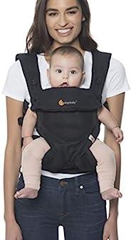 Ergobaby 婴儿背带高达 20 千克,360冷气网,黑色 4 个位置婴儿和儿童背带