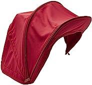 Bugaboo Bee5 遮阳蓬,红宝石红 - 可延展遮阳罩,全天候保护,可机洗