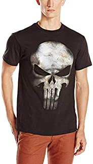 Marvel 男士 Marvel The Punisher No Sweat T-shirt 常规版 短袖 黑色 XXX-Large