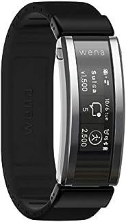 Sony 索尼 SONY wena 智能手表 电子货车 搭载Alexa运动量计 支持iOS/Android wena 3 rubber Black WNW-A21A/B