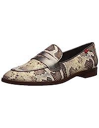 MARC JOSEPH 纽约女式皮革巴西布莱恩特公园乐福鞋