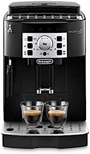 De'Longhi 德龍 Magnifica S ECAM 22.110.B 全自動咖啡機 帶有奶泡器,可制備卡布奇諾,帶有制備意式濃縮(Espresso)和咖啡的控制鍵盤,2杯功能,1.8升水箱,黑