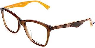 Police 女士眼镜架 VPL415M,棕色 53
