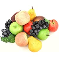ALEKO AFA3 装饰逼真仿真仿真水果装饰分类 12 件