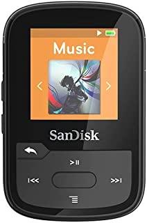 SanDisk SDMX28-016G-G46B Clip Sport Plus MP3 Player, 16GB (Blue)