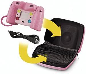 Fisher-Price 儿童数码相机包 - 粉色
