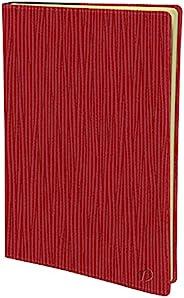 Quo Vadis - 日记, 2022 年 1 月至 2022 年 12 月, MINI 2 天 7 x 10 厘米 SAHARA 红色