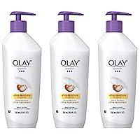 OLAY 玉蘭油 玉蘭油潤膚露,含有乳木果油的Quench超保濕產品,11.8盎司/350毫升(3件裝)