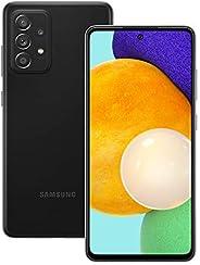 三星 Galaxy A52 5G 智能手机双 SIM 安卓手机超棒黑色(英国版)