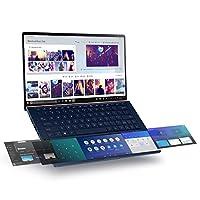 Asus 华硕 ZenBook 13 超薄笔记本电脑,13.3英寸(约33.78厘米),全高清NanoEdge边框,英特尔酷睿i7-10510U,16GB RAM,512GB PCIe SSD,创新的Screenpad 2.0,Windows 10 Pro-UX334FLC-AH79,宝蓝色