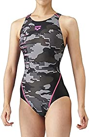 arena 阿瑞娜 竞技泳衣 开背/紧身平角裤/交叉肩带设计 女士 ARN-1074W