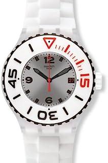 瑞士品牌 Swatch 斯沃琪 原创系列石英中性手表 洁白无瑕 SUUK401