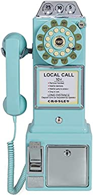 Crosley CR56-AB 1950 年代 Payphone Push Button 技術,水藍色