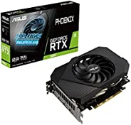 ASUS 华硕 Phoenix NVIDIA GeForce RTX 3060 游戏显卡(PCIe 4.0,12GB GDDR6内存,HDMI 2.1,DisplayPort 1.4a,Axial-tech 风扇设计,保