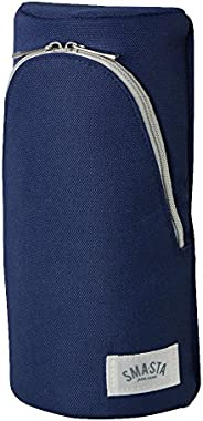 Sonic 笔袋 SMA·STA 立式笔袋 本体サイズ:W100xH202xD56mm/92g 蓝色