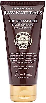 Raw Naturals 无油面霜   天然轻质男士面霜   先进的补水而不会过量*   当地瑞典护肤微酿厂的天然产品   100毫升