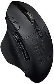 Logitech 罗技 LIGHTSPEED 无线游戏鼠标 带15个可编程控制元件,电池续航时间长达240小时,两种无线连接模式,黑色910-005649 Osteuropäische Verpackung