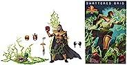Power Rangers 电力别动队 闪电收集强大的吗啡德拉科克勋爵手办,EVO III 6英寸(约15.24厘米)高级收藏级可动人偶,灵感来自破碎的网格