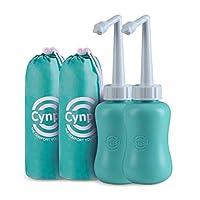 Peri Bottle for 产后护理 - 婴儿旅行沐浴套装,产后妈妈的洁面乳 - 旅行装清洁剂 - 便携式洁面乳 适用于出生泪、*、* - Tiffany Blue 2 Pack