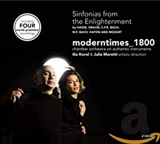 Sinfonias From The Enlightenment - Hasse、Graun、C.P.E. Bach、W.F. Bach、Haydn 和 Mozart