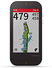 GARMIN 佳明 Approach G80 多合一高級GPS高爾夫手持設備,具有3.5英寸觸摸屏和集成的擊球監測儀