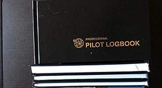 FAA 标准专业飞行员日志,黑色,658 个条目,黑色,精装
