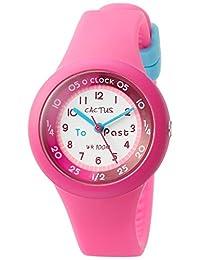 CACTUS 兒童手表 10氣壓防水 粉色 CAC-92-M55 女孩 【正規進口商品】