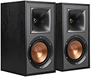 Klipsch R-41M 强大细节书架家庭音箱 2 件套 黑色