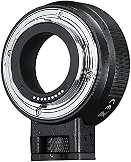 CANMEELUX 镜头适配器环自动对焦镜头安装适配器转换器 (EF-EOSM)