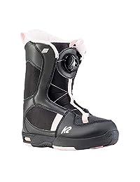 K2 Lil Kat 11D2019.1.1.040 女童滑雪鞋 黑色/粉色